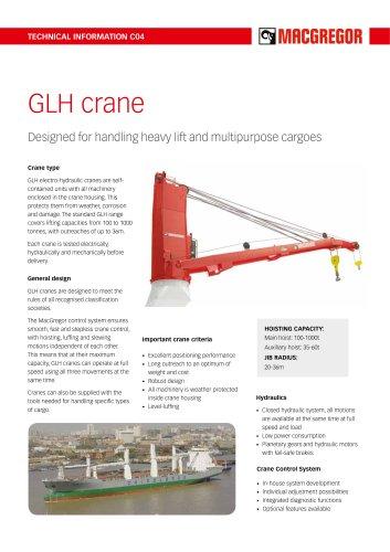 GLH crane