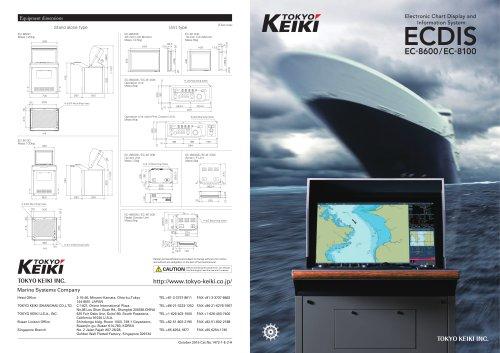 ECDIS EC-8600/EC-8100