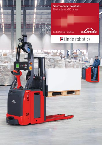 Moving ahead with the new Linde-MATIC range