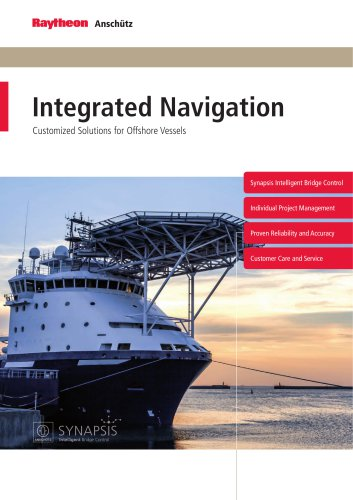 Integrated Navigation - Customized Solutions for Offshore Vessels