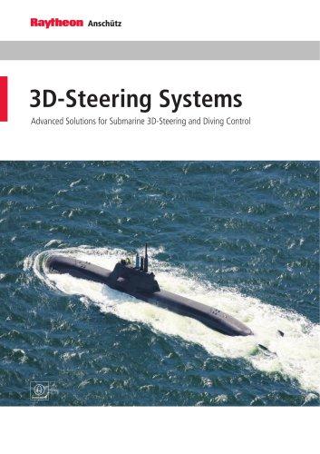 Submarine 3D Steering Control