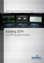 Katalog 2014 Schiffsautomation