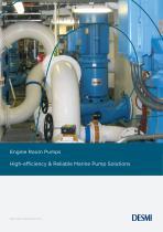 Engine Room Pumps