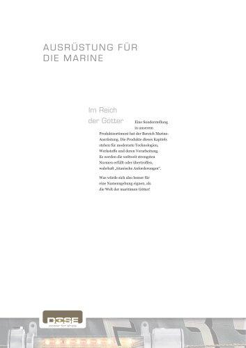 Marineausrüstung