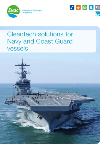 Cleantech solutions for Navy and Coast Guard vessels
