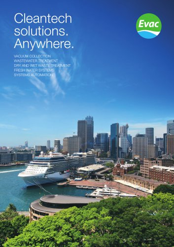 General company brochure: Cleantech solutions. Anywhere.