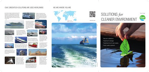 SOLUTIONS for CLEANER ENVIRONMENT