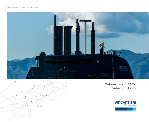 Submarine U212A Todaro Class
