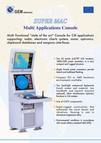 bridge console for ships