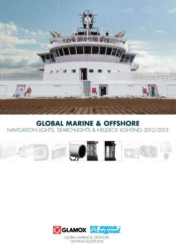 Global Marine & Offshore Navigation Lights, searchlights & Helideck Lighting 2012/2013