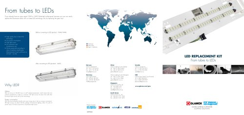 LED replacement kit