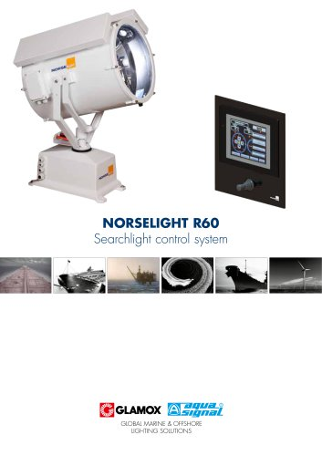 norselight R60 Searchlight control system