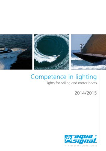Recreational Boats: Competence in lighting 2014-2015
