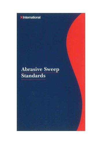 Abrasive Sweep Standards