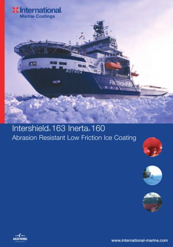 Intershield®163 Inerta 160 - Abrasion Resistant Low Friction Ice Coating
