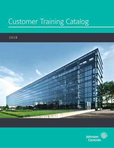 Customer Training Catalog 2018