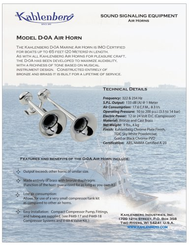 D-0A Air Horn