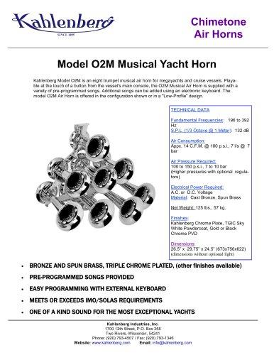 Model O2M Musical Yacht Horn