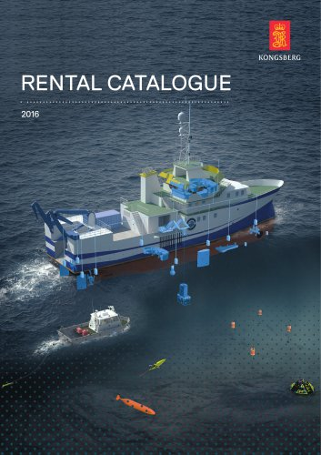 Offshore and subsea equipment rental catalogue