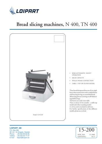 Marine Bread Slicer 11 mm (TN 400)