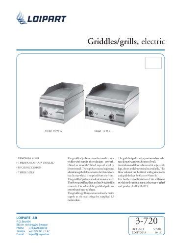 Marine Griddle Model no. 169600