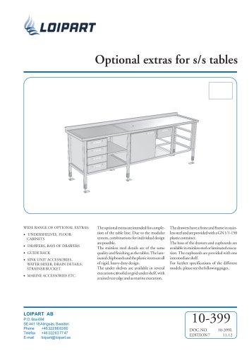 S/S Cupboard with double doors