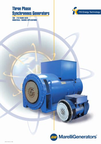3 Phase Synchronous Generators - Industrial/Marine Applications