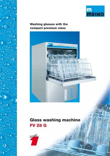 Catalogue Undercounter glass and dishwashing machines Premium-line FV 28 G