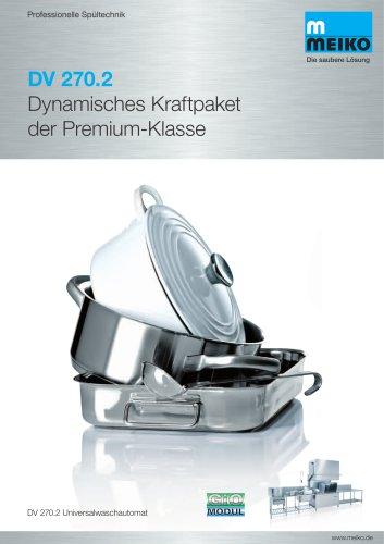 Dynamisches Kraftpaket der Premium-Klasse DV 270.2