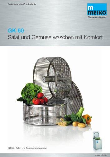 Salat und Gemüse waschen mit Komfort GK 60