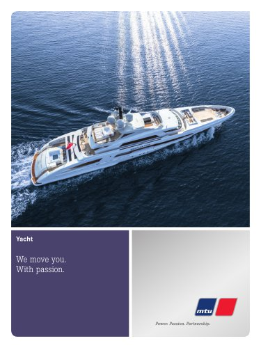 Marine Yacht: We move you. With passion.