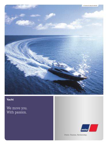 MTU Marine engines for Yachts