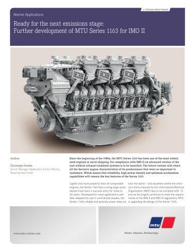 MTU_Technical_Article_Further_Development_Series_1163_for_IMO_II