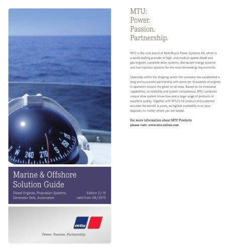 Sales Program Marine