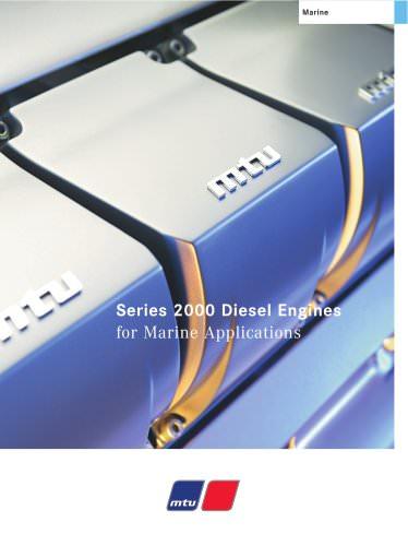 Series 2000 MTU Diesel Engines