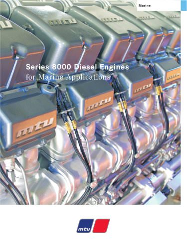 Series 8000 MTU Diesel Engines