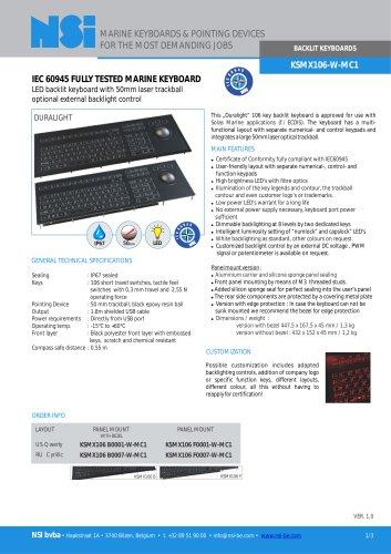 K SMX106-W-MC1