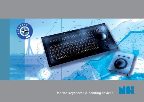 NSI Marine keyboards & pointing devices