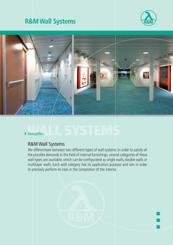 R&M Wall Systems