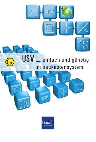 USV Unterbrechungsfreie Stromversorgung