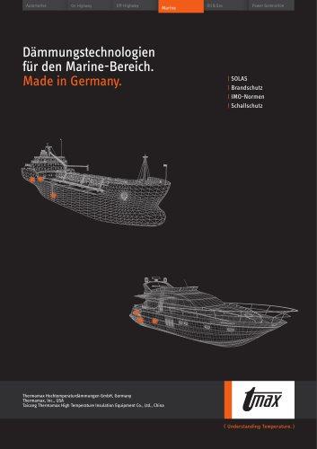 Dämmungstechnologien für den Marine-Bereich