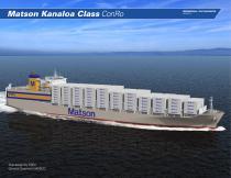 Matson Kanaloa Class ConRo