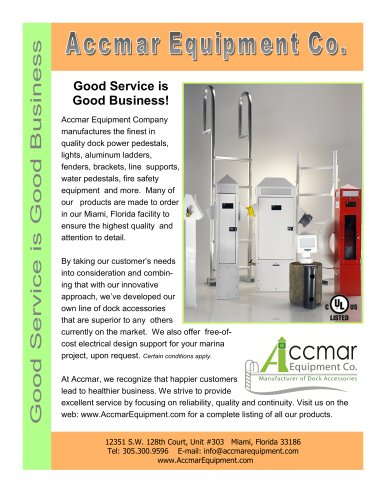 Accmar Equipment: About US