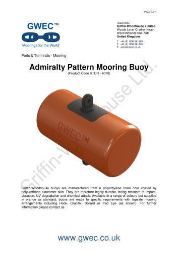 Admiralty Pattern Mooring Buoy