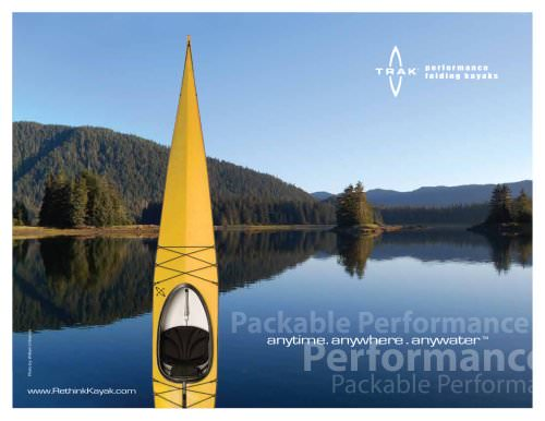 TRAK T-1600 Performance Folding Kayak