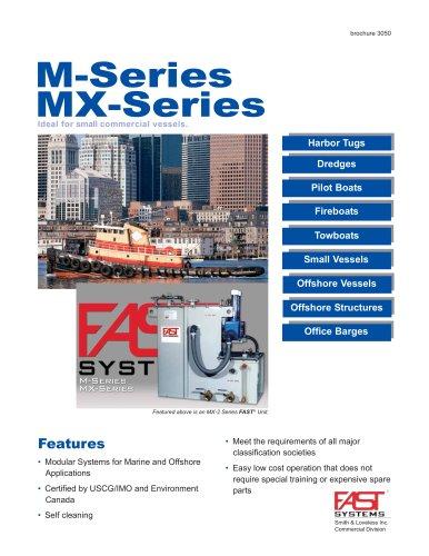 M & MX-Series Sewage treatment