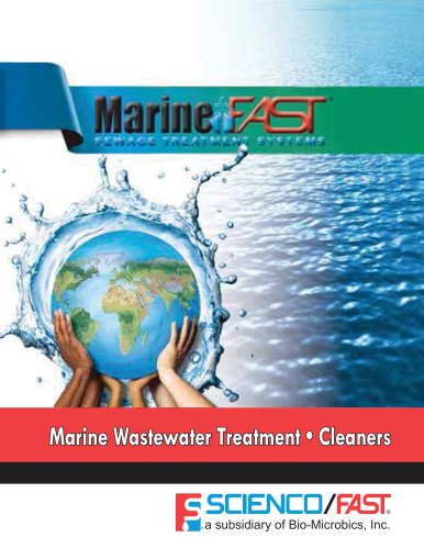 Marine Wastewater Treatment • Cleaners