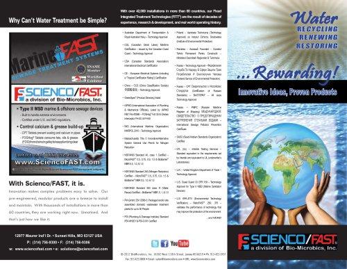 Scienco/FAST Corporate Overview