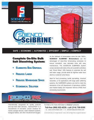 Scienco® SciBRINE® Design Guidelines