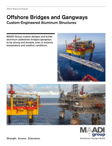 MAADI Group Offshore Bridges and Gangways